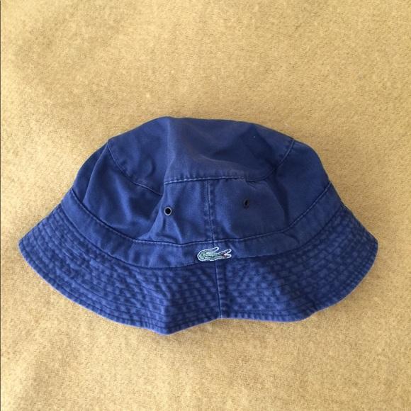 1a83ce96 Lacoste Accessories | Bucket Hat | Poshmark
